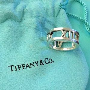 Tiffany & Co .925 Sterling Silver Ring